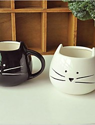 Black and white Animal Couple Mug Mugs Water Cup Birthday Gift Valentine's Day gift