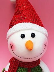"""40cm / 15,7 """"cute Weihnachtsdekoration Geschenk stehenden Schneemann-Puppe-Plüschspielzeug Geschenk des neuen Jahres"""