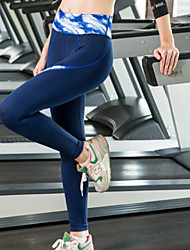Yoga Tights Breathable / Quick Dry / Held-In Sensation / Wicking / Compression for Women