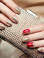 Милый / Панк - 3D наклейки на ногти / Стразы для ногтей - Пальцы рук - 145*75mm - 1pcs - ПВХ