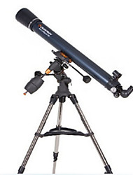 Celestron 90EQ Refractor Telescope Telescopes Entry