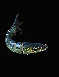 """Esche rigide 18.5 g / 5/8 Oncia , 140 mm / 5-1/2"""" pollice 1 pc Pesca di mare , Verde Plastica dura"""