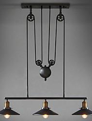 Max 60W Pendelleuchten ,  Retro Korrektur Artikel Feature for LED / Ministil MetallWohnzimmer / Schlafzimmer / Esszimmer /