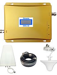 kits complets lintratek 2g répéteur de signal GSM 900MHz DCS 1800MHz double bande mobile GSM de rappel amplificateur de signal portable