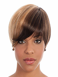 Women's Daily Lovely Side Bang Syntheic  Wig Extensions New Style