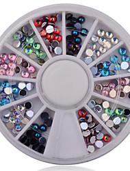Manicure Opal Diamond Ornaments Acrylic 12 Lattice Manicure Drill Fashion Nail Art Decorations