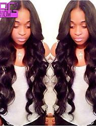 Cheap Middle Part Human Hair Body Wave Lace Front Wigs Brazilian Virgin Human Hair Wig For Black Women