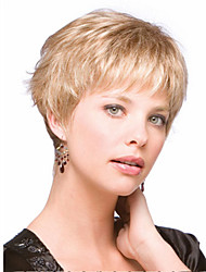 Lady Women Blonde Wig Sale To Eurepean  Syntheic  Hair Wig