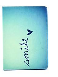 diseño especial funda folio con la novedad de la PU de cuero de dibujo coloreado o patrón de la funda para el iPad mini4 MINI3 / 2/1