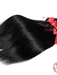 EVET 1Pc Lot Malaysian Virgin Hair Straight Human Hair Malaysian Silky Straight Unprocessed Natural Color Hair weave