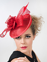 Wedding Party Sinamay Feather Fascinators Hats for Women