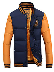 Men's Stand Coats & Jackets Plus Size, Cotton Long Sleeve Casual Fashion Winter Wshgyy