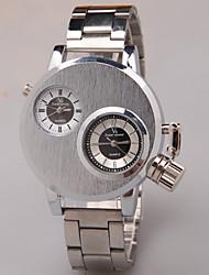 hfyg duplo movimento relógios mercado de moda masculina relógio de quartzo negócios