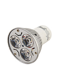 Youoklight® 1pcs gu10 3w 200-250lm 3000 / 6000k blanc / chaud blanc 3-haute puissance prise spot ampoule (ac110-120 / 220 ~ 240v)