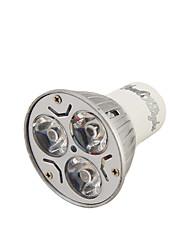 Youoklight® 1pcs gu10 3w 200-250lm 3000 / 6000k blanco / caliente blanco 3-high power llevó la bombilla del punto (ac110-120 / 220 ~ 240v)