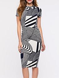 Women's Print Bodycon Dress