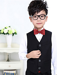 Polester/Cotton Blend Ring Bearer Suit - 1 Pieces Includes  Vest