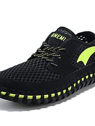 Zapatos Agua Tul Negro Hombre