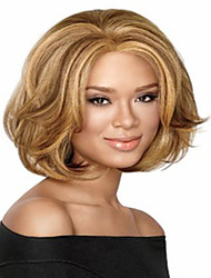 Short Synthetic Wigs Curly Wig For African American Black Women Short Bob Hair Wigs