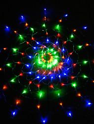 Lumière de Noël net des filets étanches barres cascade de scintillement décoration des noces de lampes étanches 220v 1.2m de lumière