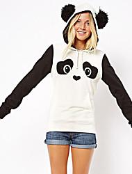 detectar ebay comércio aliexpress de panda bonitos impressões fleece camisola hedging