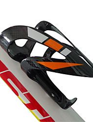 NT-BC1004 Carbon Fiber Bike Cage Holder Orange White/Green White/Red White、Red/White/3k Glossy Cycling Holder