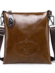 Men PU Formal / Casual / Outdoor / Office & Career Shoulder Bag Blue / Brown / Black / Khaki