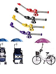 2PCS Wheelchair Bike Bicycle Stroller Chair Adjustable Umbrella Holder Mount Stand