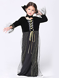 Halloween / Christmas / Carnival / Children's Day Kid Movie & TV Theme Costumes / Wizard Costumes Dress / Corsets
