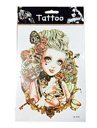 10/PCS new  waterproof temporary arm Indians tattoos sexy body art removable tattoos WST-56