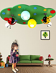 Moderno / Contemporáneo LED Madera/Bambú Montage de Flujo Sala de estar / Dormitorio / Sala de niños