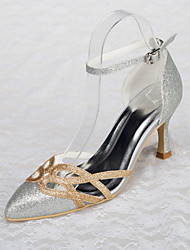 Women's Wedding Shoes Heels Sandals Wedding / Party & Evening / Dress Silver