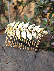 Rose Gold Small Branch Headpiece - Wedding / Special Occasion Hair Combs 1 Piece