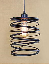 American Restoring Ancient Ways, Wrought Iron Hob, Creative Modern Single Head Droplight