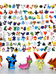 144Pcs/Lot Pokemon Action Figures New Cute Monster Mini Figures Toys Best Christmas&Birthday Gifts Brinquedos 3cm