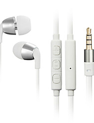 JBM High Stereo Headset In Ear Metal Earphone handsfree Headphones with Mic 3.5mm Earbuds for Player Samsung iphone