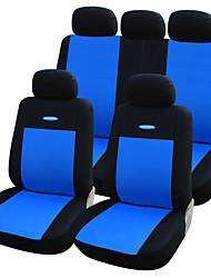 autoyouth siège de voiture de haute qualité couvre polyester ajustement universel voiture 3mm composite éponge couvre les accessoires de