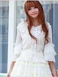 Sweet Lolita White / Black Blouse