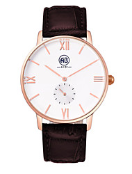 AIBI® Men's Fashion Watch Water Resistant/Water Proof Rose Gold Dark Coffee Gift Wrist Watch For Men Cool Dress Watch Unique Watch With Watch Box