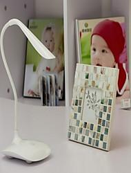 Brightness Book Light Portable Flexible Table Desk Reading Lamp LED Light Sensor 3-level USB Charge