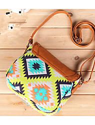 Women Acrylic Casual Shoulder Bag Multi-color