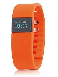 Tracker atividade esporte relógio inteligente tw64 forma inteligente de esportes de pulso da banda pulseira com bluetooth