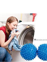 2pcs Lave-linge sèche balles réutilisable d'assouplissant