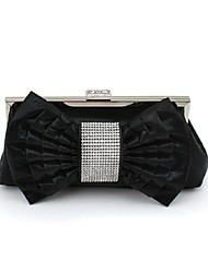 Women's Purse Fashion Korean Style Bowknot Silk Evening Bag Sweet Lady Style Clutch Bag