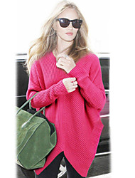 Women's Asymmetrical Pullover Sweater