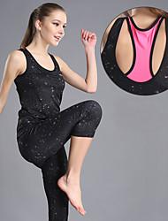 Yoga Sets de Prendas/Trajes Pantalones + Tops Transpirable Eslático Ropa deportiva Mujer - OUDIKE Yoga