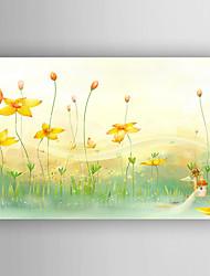 Stretched Canvas  Art Children Landscape Print  One Panel