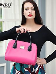 Bolsa de Ombro / Tote / Clutch / Bolsa de Festa / Bolsa de Pulso / Nécessaire / Bolsa Para Notebook - Feminino - Hobo - Azul / Vermelho -