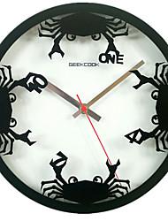 Rond Moderne/Contemporain / Rustique / Casual / Office/Business Horloge murale ,Mariage / Famille / Ecole/Diplôme / Amis / Anniversaire /