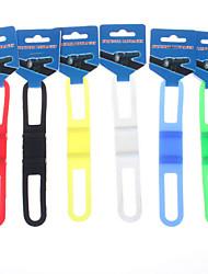 1PCS Bicycle Silicone Tie Wraps / Flashlight Clip